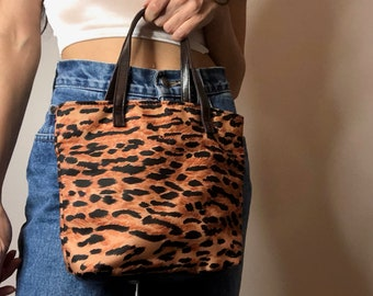 cheetah mini purse