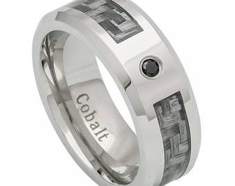BDCO381 - 8mm Cobalt Ring