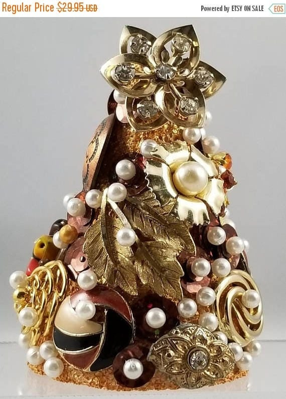 CYBER MONDAY Mini Vintage Christmas Tree