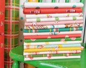 Sugarplum Fat Eighth/Fat Quarter/Half Yard Bundle - 16 Fabrics - Heather Ross - Windham Fabrics - Holiday Fabric