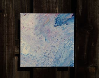 Acrylic pour painting No.114