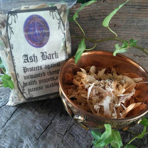 Ash Bark, Ash Wood, Ash For Poppets, Ash For Incense Making, Ash Wood For Spells, Ash Tree