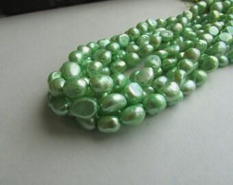 Green Rice Pearl,Pearl,Rice Pearl,Green Pearl,Freshwater Pearl