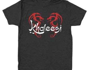 Khaleesi Got Queen Princess Men's Tri-Blend T-Shirt DT0467
