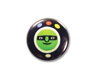 1 Inch Pinback Button - Orbazoom