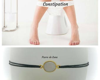 "For ""constipation"" Bracelet: Moonstone"