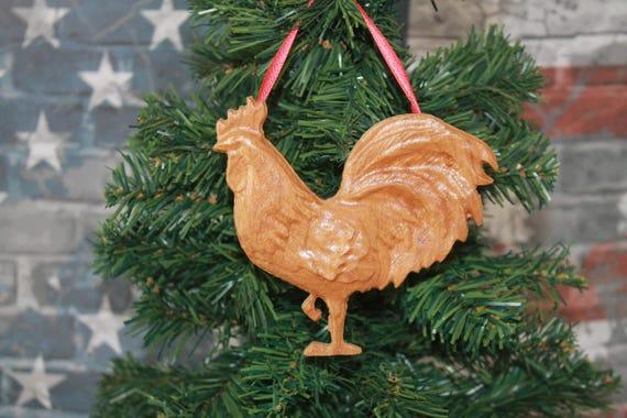 Ornaments for women, Rustic, Chicken lady decor, Chicken decor, Rooster ornaments, Kitchen farm decor, Farm ranch decor, Christmas Ornaments