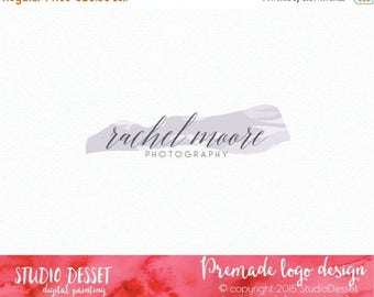 80% OFF - LIMITED TIME - Photography Logo Design, Party Logo Design, Script Logo Design, Boutique Logo Design, Watercolor Logo Design Small