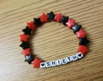 Voltron Keith and Shiro bracelet