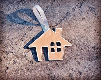 Personalized Wooden House Ornament