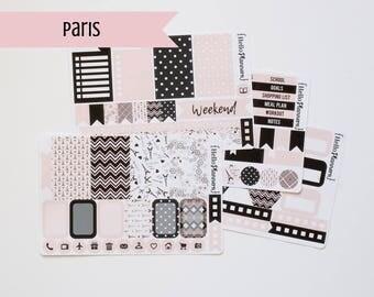 Paris Planner Stickers Weekly Kit   Functional Planner Sticker   Planner Sticker Kit   Happy Planner Stickers   Erin Condren   Paris Sticker