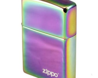 Zippo Rainbow, Spectrum color lighter,  Personalized, Engraved