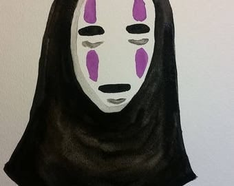 Spirited Away No Face Painting