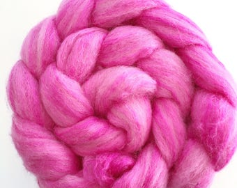 Hand-dyed Corriedale Silk - Aussie Bale Project