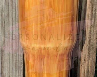 Wood Grain Tumbler  // free shipping / yeti / rtic / hogg / Ozark trail.