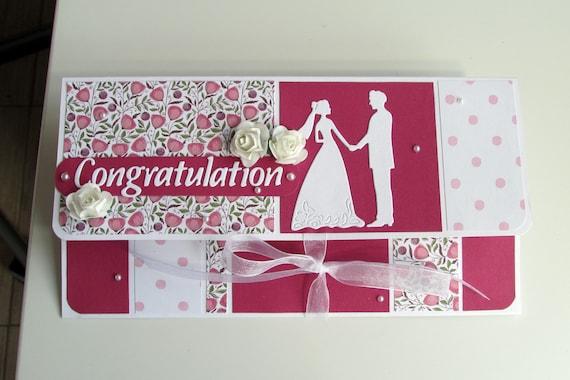 Wedding money holder Money envelope Wedding cash gifting