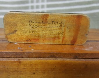 Vintage 1890s Patent Congdon's Pitch Pipe Harmonica Made in Germany