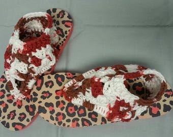 Ladies Gladiator Flip Flops / Sandals