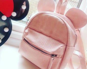 Mickey Mouse Backpack Disney Inspired Bag Disneyland Accessory Medium bag