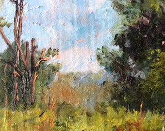 Texan Spring Original Oil Painting #4