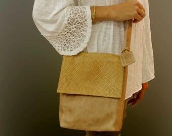 Sale!!! Small Brown leather cross body Crossbody Messenger bag Small Women's Leather Handbag purse Crossbody leather messenger for women