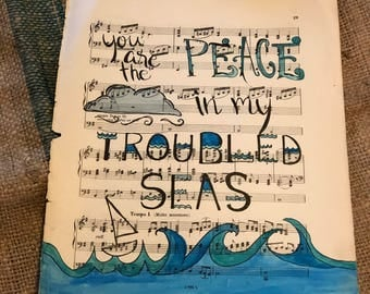 Peace In My Troubled Seas