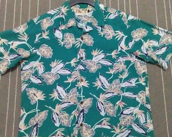 vintage TORI RICHARD mens hawaiian shirt