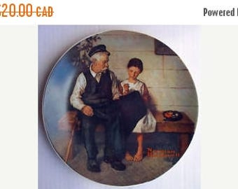 Winter Clearance The Lighthouse Keeper's Daughter Plate - Norman Rockwell - Heritage Collection
