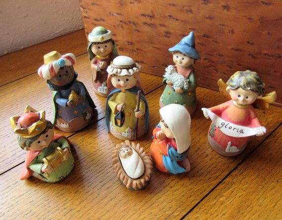 Juvenile Nativity Set, Celebrate It!