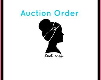 Auction Order - alisha D