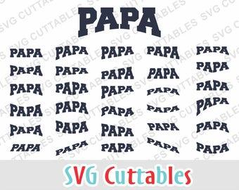 Papa svg, papa layouts, papa ez layouts, svg, eps, dxf, papa cut file, silhouette file, cricut cut file, digital download