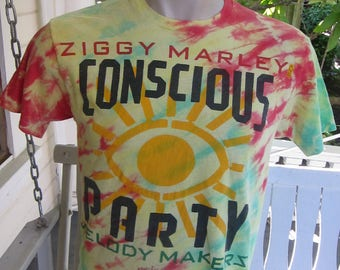 Size L (44) ** Rare 1988 Ziggy Marley and the Melody Makers Concert Shirt