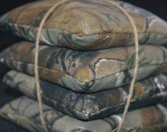 4 Camo bags & 4 of a 2nd color (8 bags total)