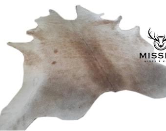 CAMEL GREY XXXL Cowhide Rug  Tapis Peau de Vache Kuhfell Teppich