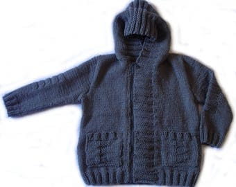 Vest zipped Hoodie age 6/8 mixed