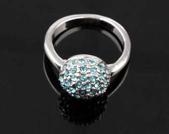 Crystal Ball Ring  Wedding Rings Party Finger Ring Disco Ball Ring Statement Ring