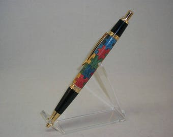 Autism Awareness Puzzle Pen