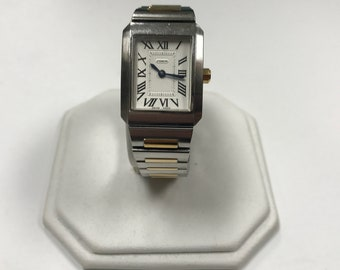d406 Original Coach Swiss Made Stainless Steel Water Resist Quartz Wrist Watch
