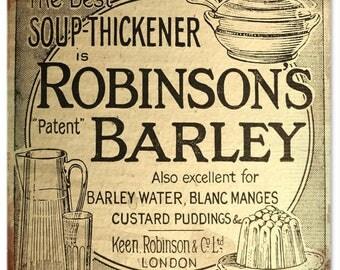 Robinson's Barley Sign 12x12 RG1310
