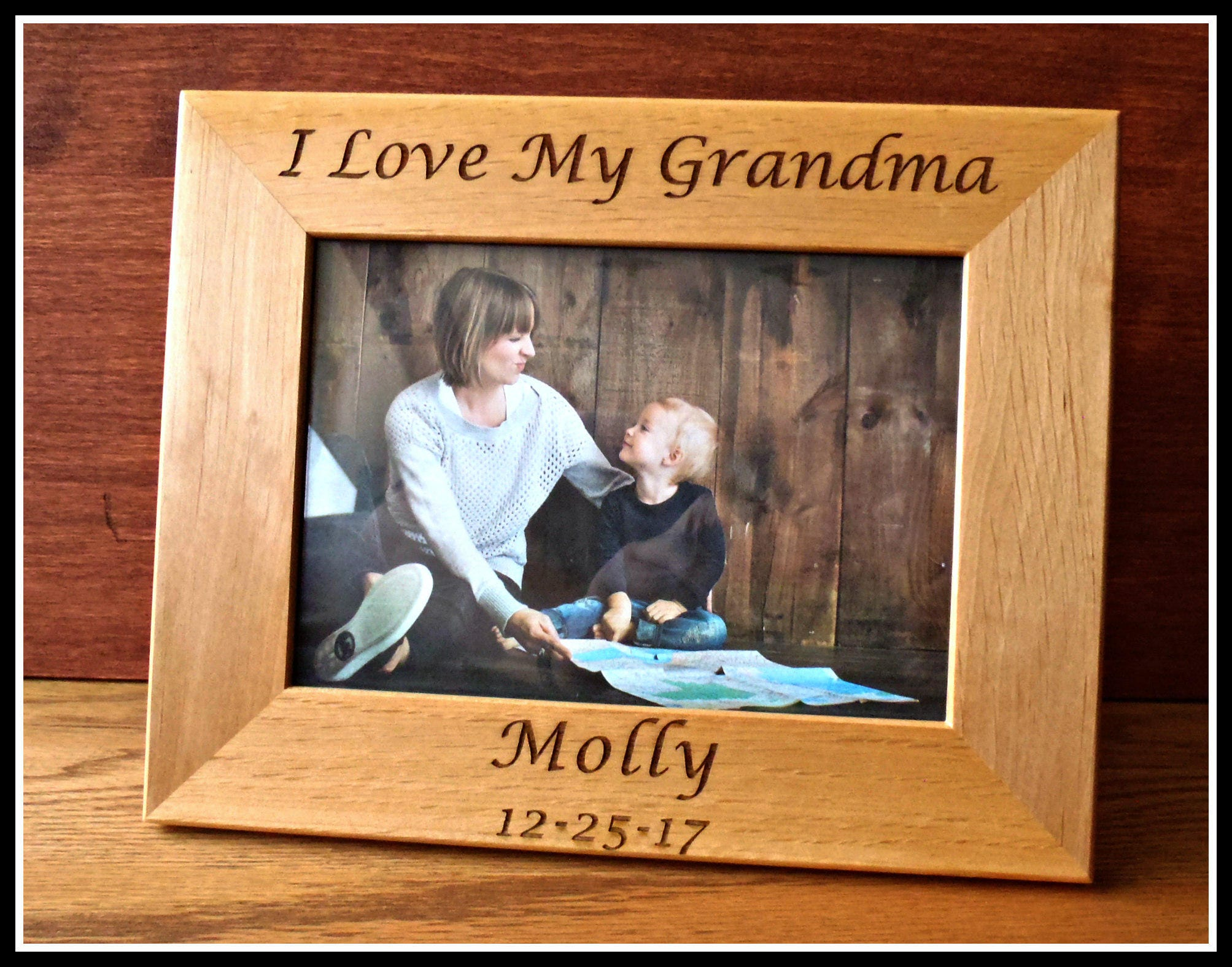 Baby Picture Frame I Love My Grandma Picture Frame