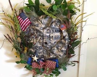 Uniform wreath