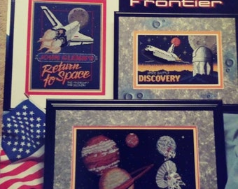 Stoney Creek The Final Frontier Counted Cross Stitch booklet. Book 226