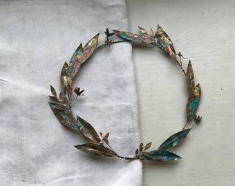 Metal wreath