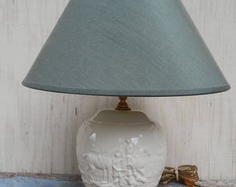 Gorgeous Wedgewood Fox Hunting Lamp!
