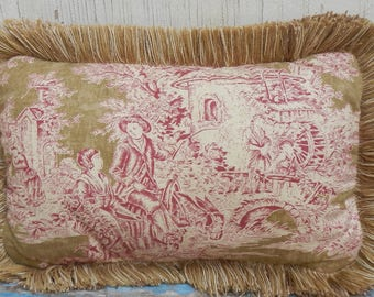 Sweet Toile French Country Pillow!