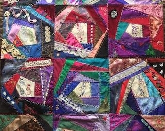 Victorian Quilt Handmade Embellishments