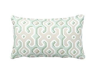 Green Decorative Throw Pillow Cover