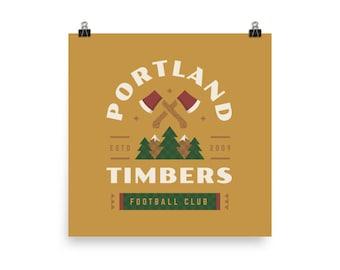 Portland Timbers Badge