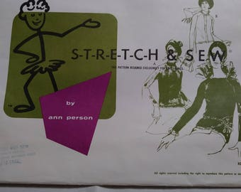 Stretch and sew pattern 200 Ladies Raglan sleeve