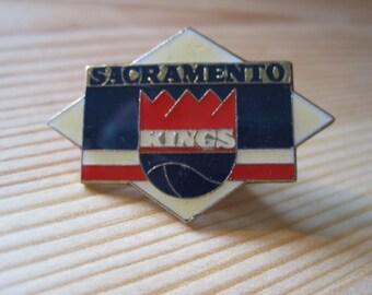 Vintage Sacramento Kings 1987 NBA Lapel/ Hat Pin